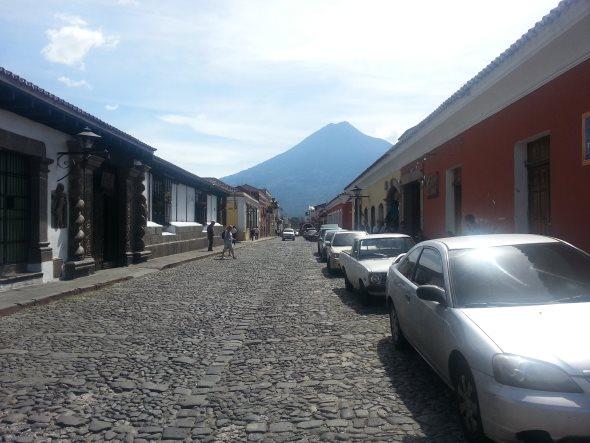 ville d'antigua au guatemala
