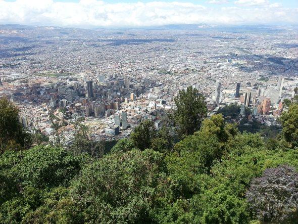 ville bogota cerro de monserate