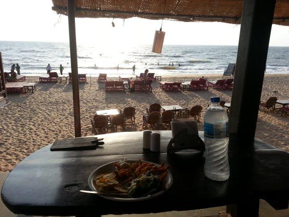 goa plage et restaurant