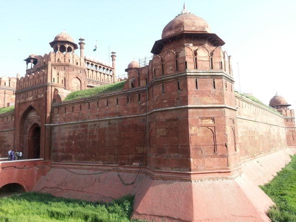 Le red fort à delhi