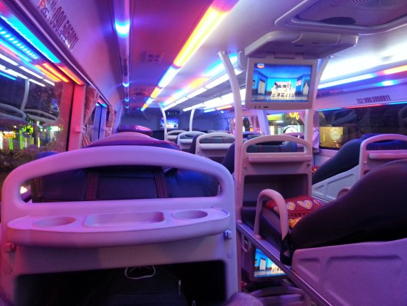 bus de  nuit vietnam