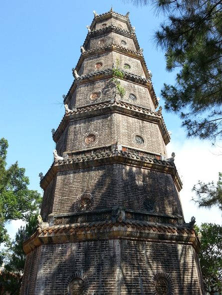 pagoda  thien mieu vietnam
