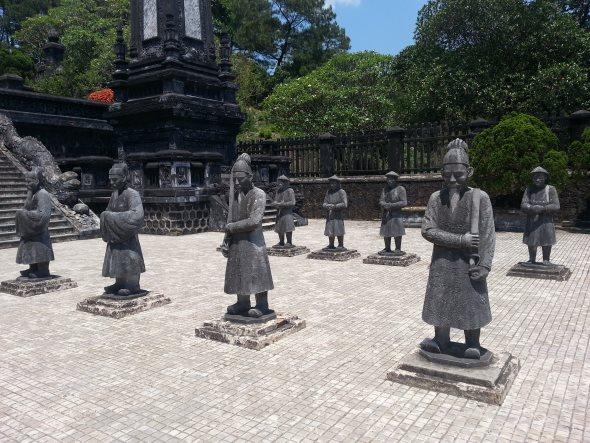 La tombe de khai Dinh's à Hue