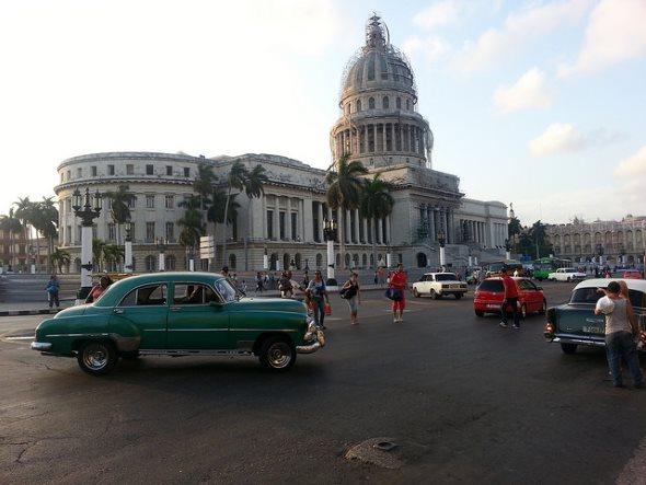 Le capitole de la havane a Cuba