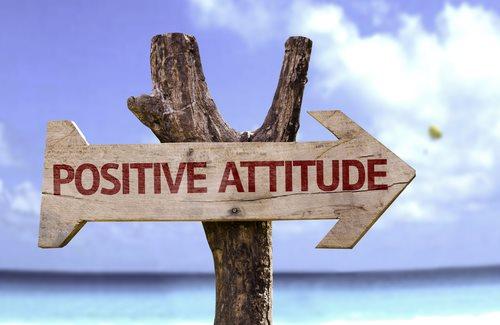comment être positif