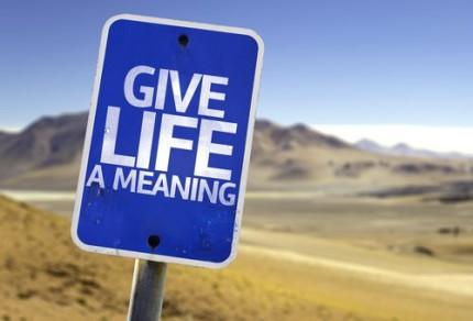 trouver le sens de la vie
